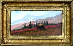 "Michael Coleman ~ ""Grizzly in Fireweed"""